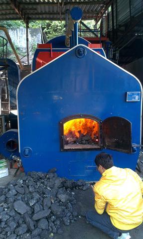 Nồi hơi đốt CỦI công suất 3 tấn hơi/h